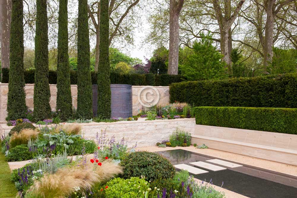 Tuindesign foto thomas hoblyn copyright passie voor tuinen 2012 - Tuin layout foto ...